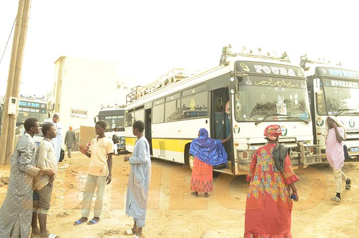 Arrêt sur image, des bus mobilisés, en soutien à l'imam, partout dans le pays, Procès Aliou B. Ndao