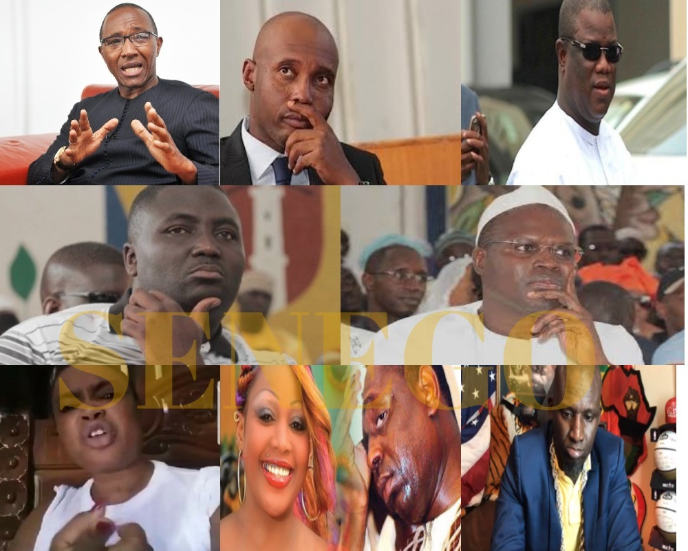 actualité politico-judiciaire, Amy Collé Dieng, Assane Diouf, Bamba Fall, Barthélemy Dias, Khalifa Sall, khalil kamara, Penda Bâ, rétro 2017