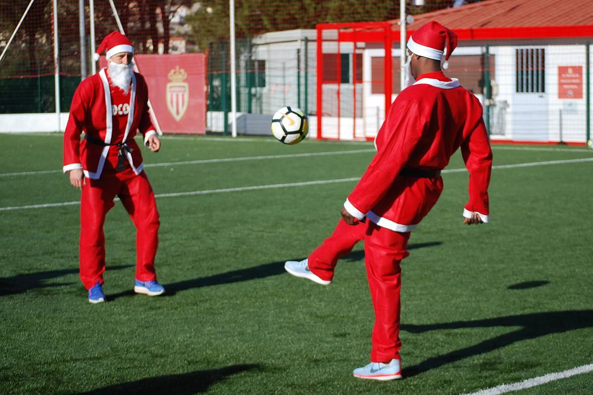 Keita Baldé, Père Noël