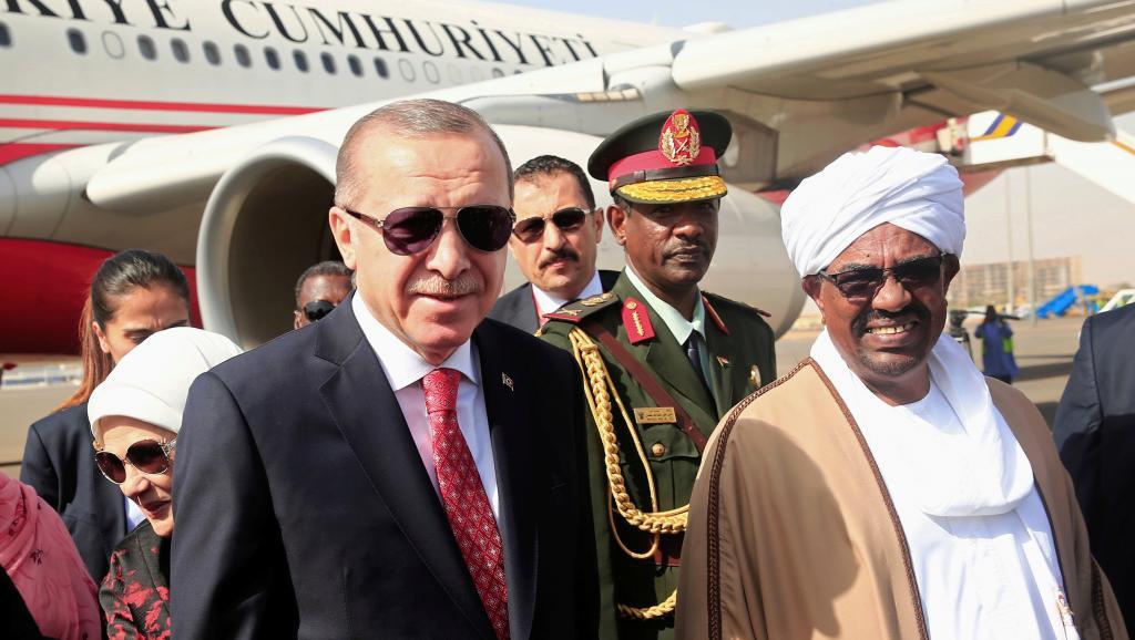 Omar El-Béchir, Recep Tayyip Erdogan, Soudan, Tchad, Tunisie