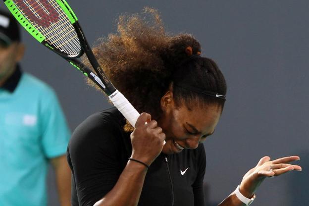 Abu Dhabi, Dame, match de tennis, Serena Williams