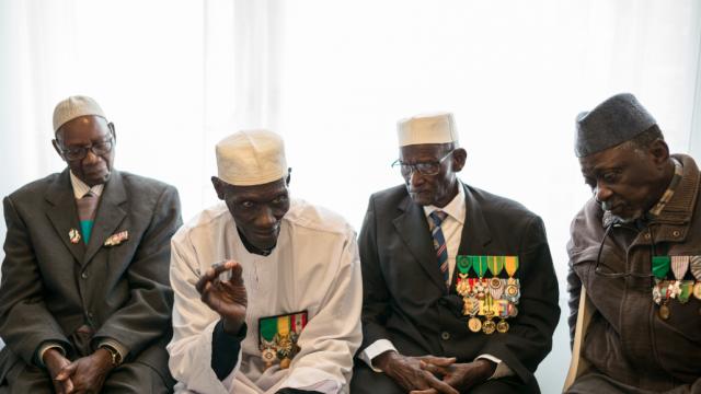 : A la mémoire, des 7 000 morts, Journée du tirailleur sénégalais