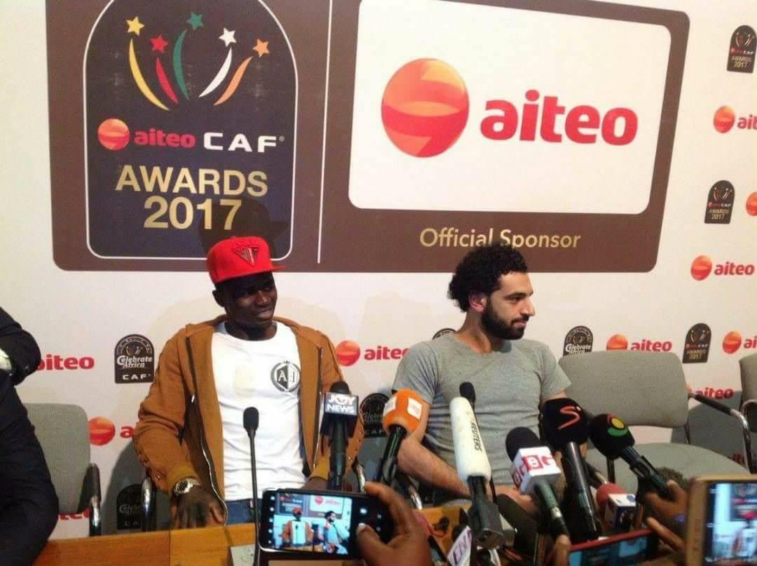 Ballon d'Or Africain, Sadio Mané, Salah