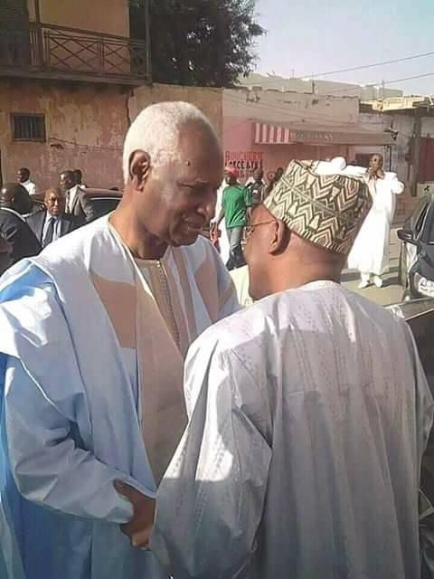 Abdou Diouf, Condoléances, Tivaouane