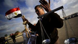 des hommes exécutés, Egypte