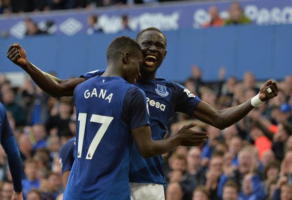 Everton, Gana Gueye, Tottenham