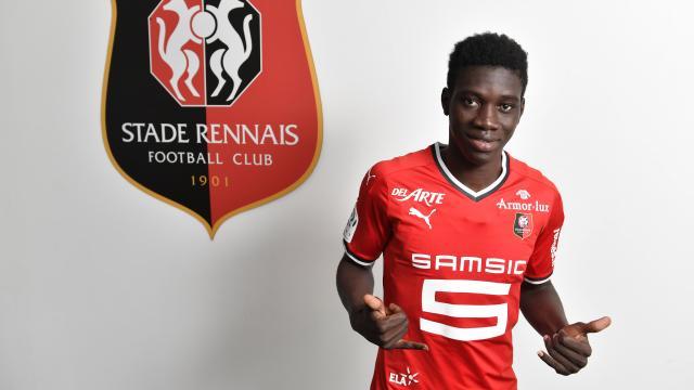 Ismaila Sarr, Ismaïla Sarr de retour, Rennes, Stade Rennais, tanière, une bonne nouvelle
