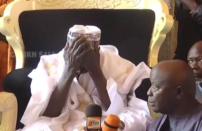 Vidéo-Serigne Mountakha Mbacké nouveau Khalife des Mourides