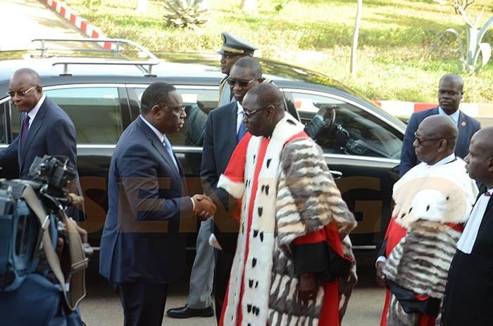 Aujourd'hui, Justice Sénégal, justice sénégalaise, L'année judiciaire 2018/2019, Ouverte, par le Chef de l'Etat, Président de la République, Président Macky Sall, Sénégal