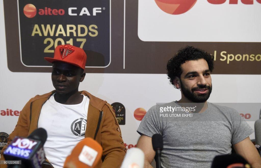 Caf Awards, Sadio Mané, Salah