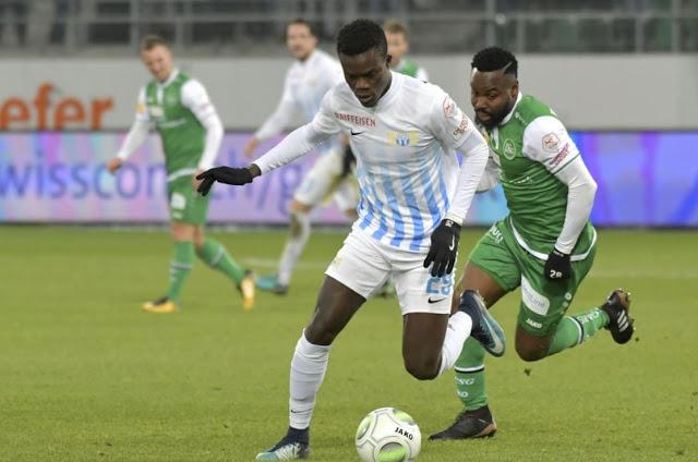 équipe nationale, FC Zurich, Sangoné sarr