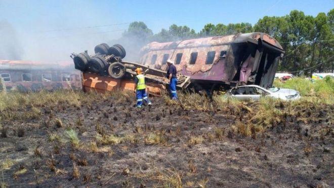 Afrique du Sud, Train collision