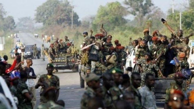 Côte d'Ivoire, coups de feu, urgent