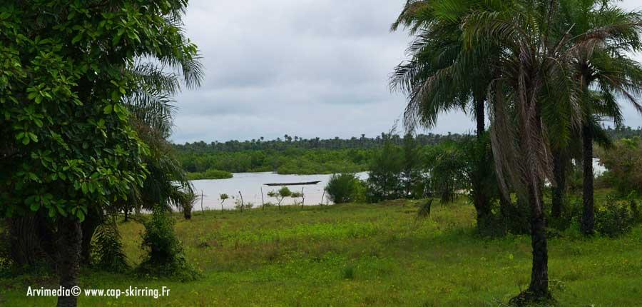 Architecture, Casamance, gouvernement, Plan