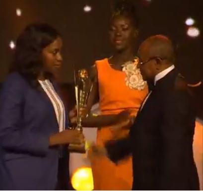 ballon d'or africain 2017, Caf, Caf Awards, CAF awards 2017, Libéria, Platinum Awards, Platinum Awards pour george weah, président libérien, prix pour george weah, Weah