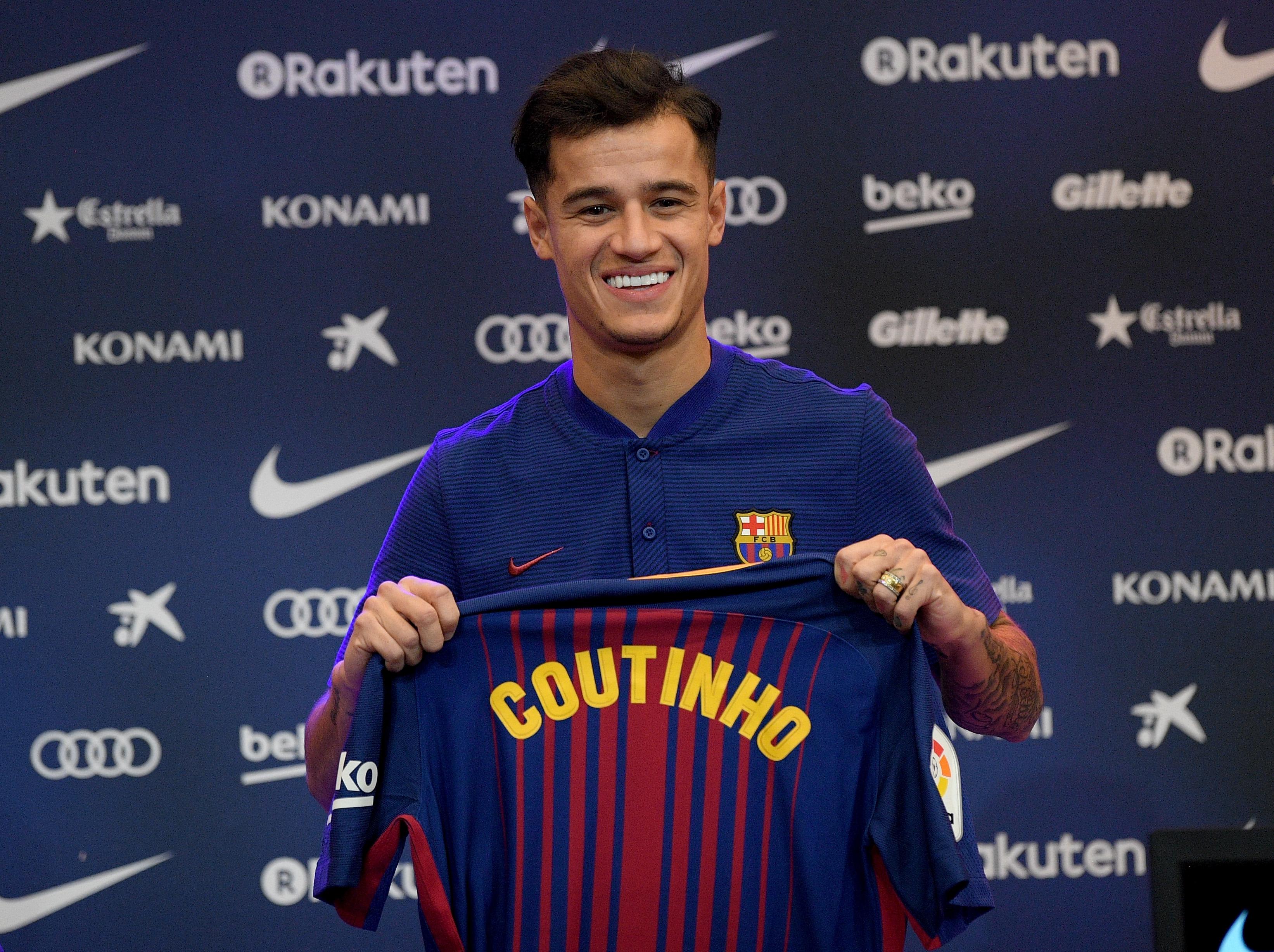 Barça, Coutinho, numéro 14