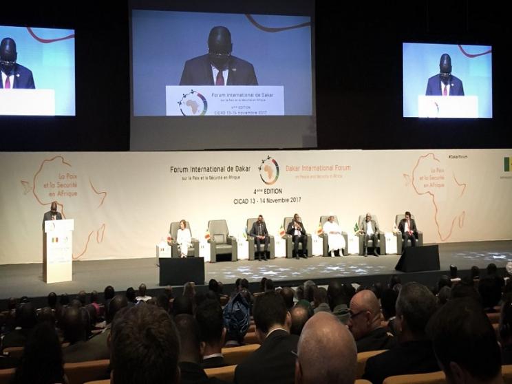 dirigeants pour la paix à Dakar, sommet africain