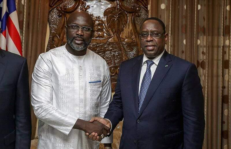 Coach, Georges Weah, Macky Sall