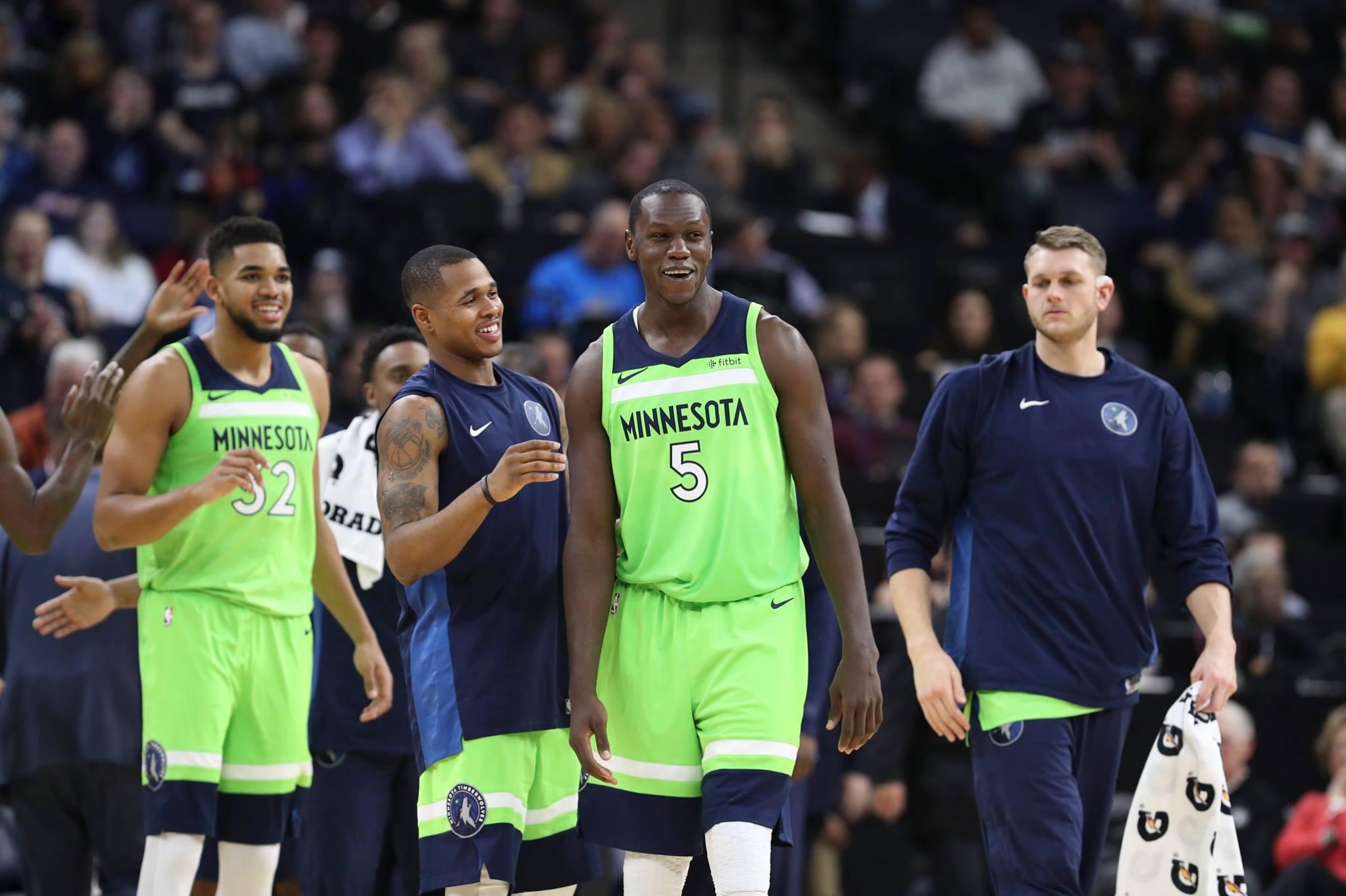 Basket, Gorgui Dieng, match de Gorgui Dieng, Minnesota, Nba, vidéo de Gorgui Dieng, volves