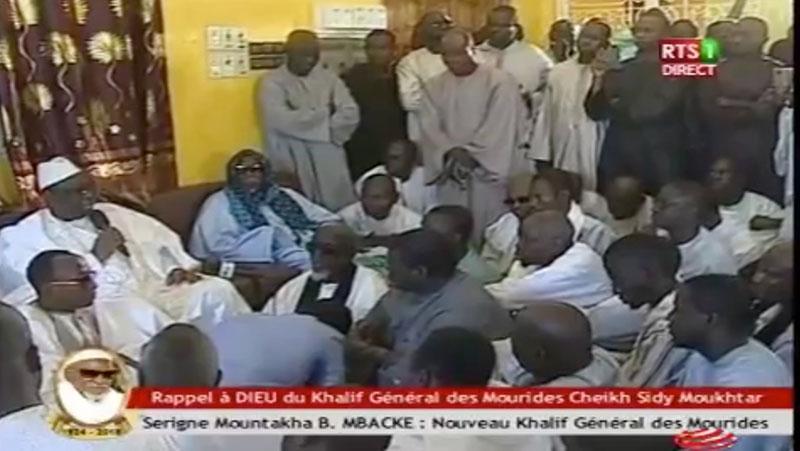 chef l'Etat, Condoléances, Macky Sall, Serigne Montakha Mbacké