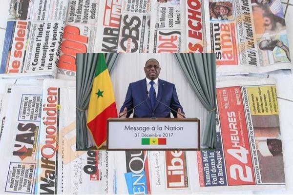 message, Nouvel an, Président de la République