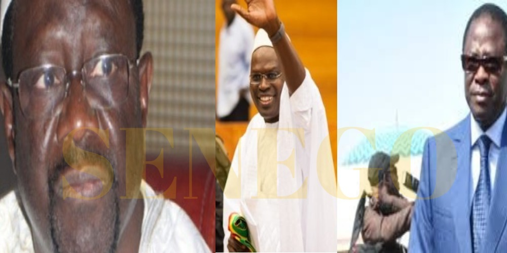 caisse d'avance, Fonds politiques, Khalifa Sall, Macky Sall, Mbaye Ndiaye, Pape Diop