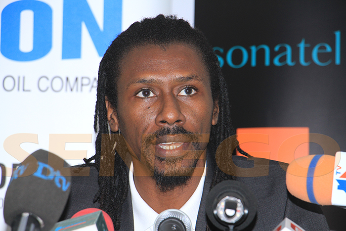 Aliou Cissé, Football, Sénégal