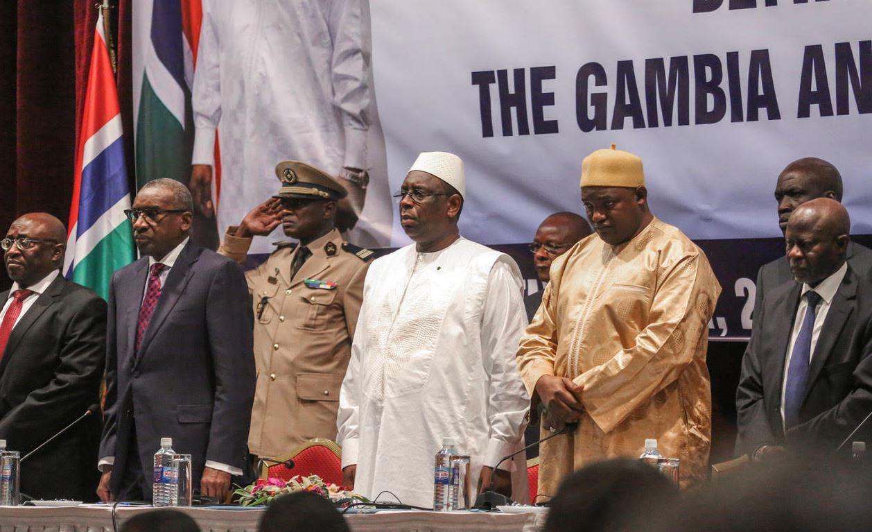 Conseil, gambie, Présidents, Sénégal