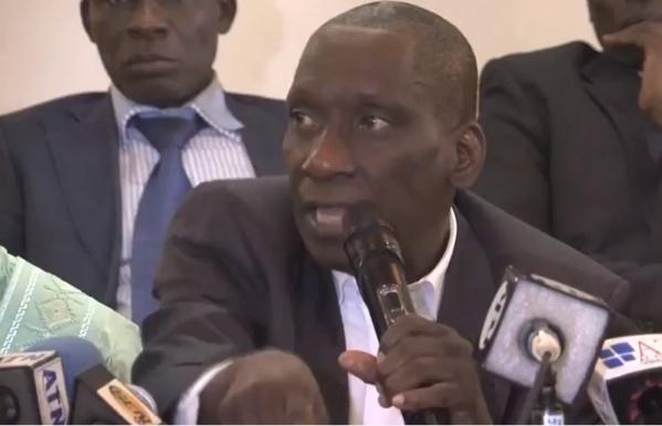front national de résistance, Macky Sall, Mamadou Diop Decroix, parrainage