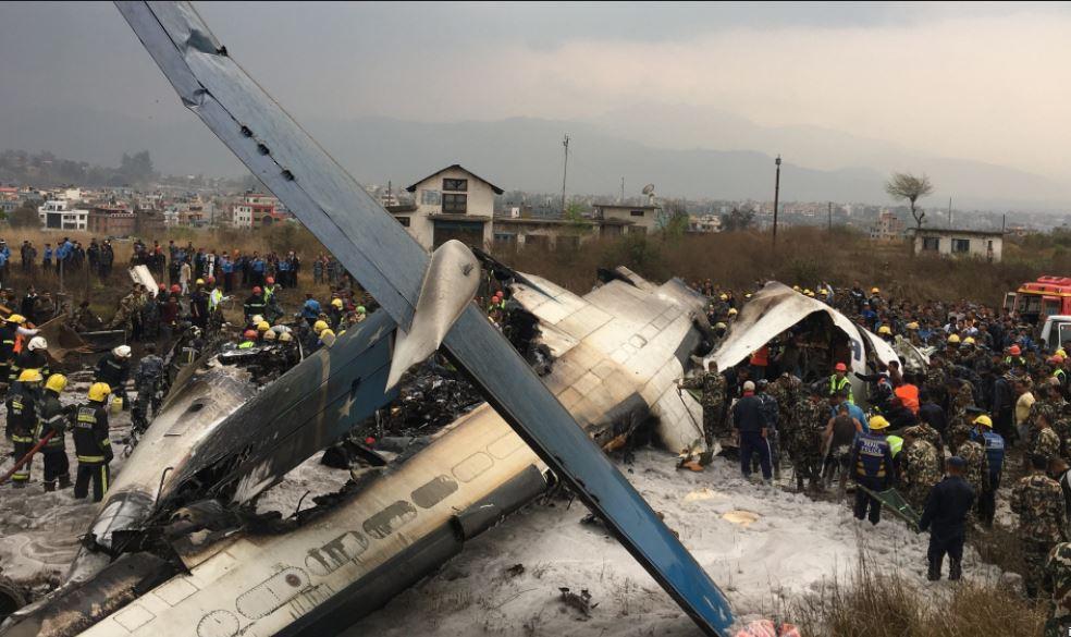 avion, Crash, Népal