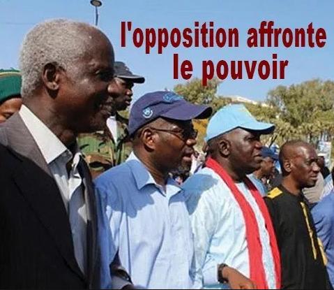 Sit-in devant le ministère de l'Intérieur: l'opposition revient à la charge
