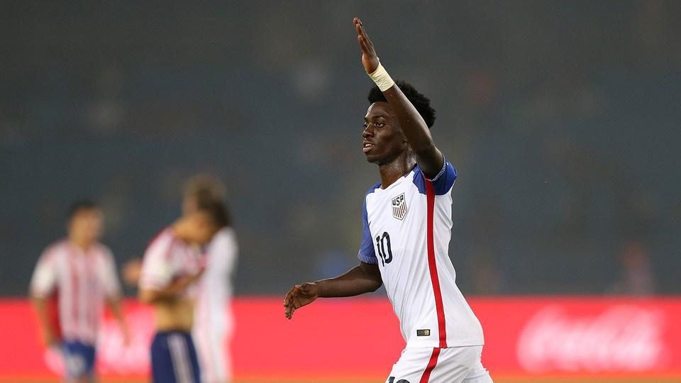 Timothy, fils de George Weah va jouer avec l'équipe nationale des USA