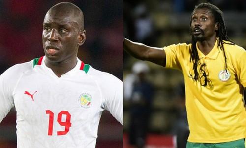 aliou cissé sur Demba Ba, Demba Ba, Demba Ba équipe nationale, Demba Ba mondial 2018, match de Demba bâ, sélection de Demba Ba