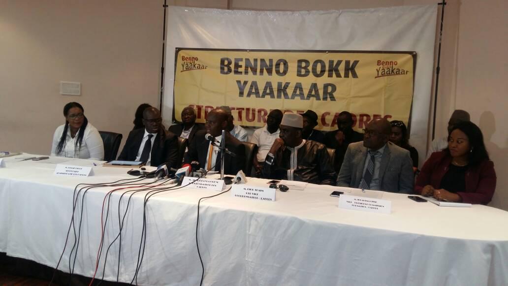 BBY, Benno Bokk Yakaar, Mort de Fallou Sène, ouverture enquête, Secrétariat exécutif permanent