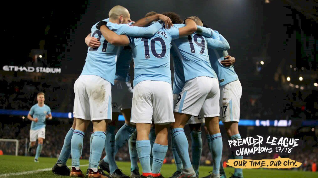 Champion, Manchester City, officiel