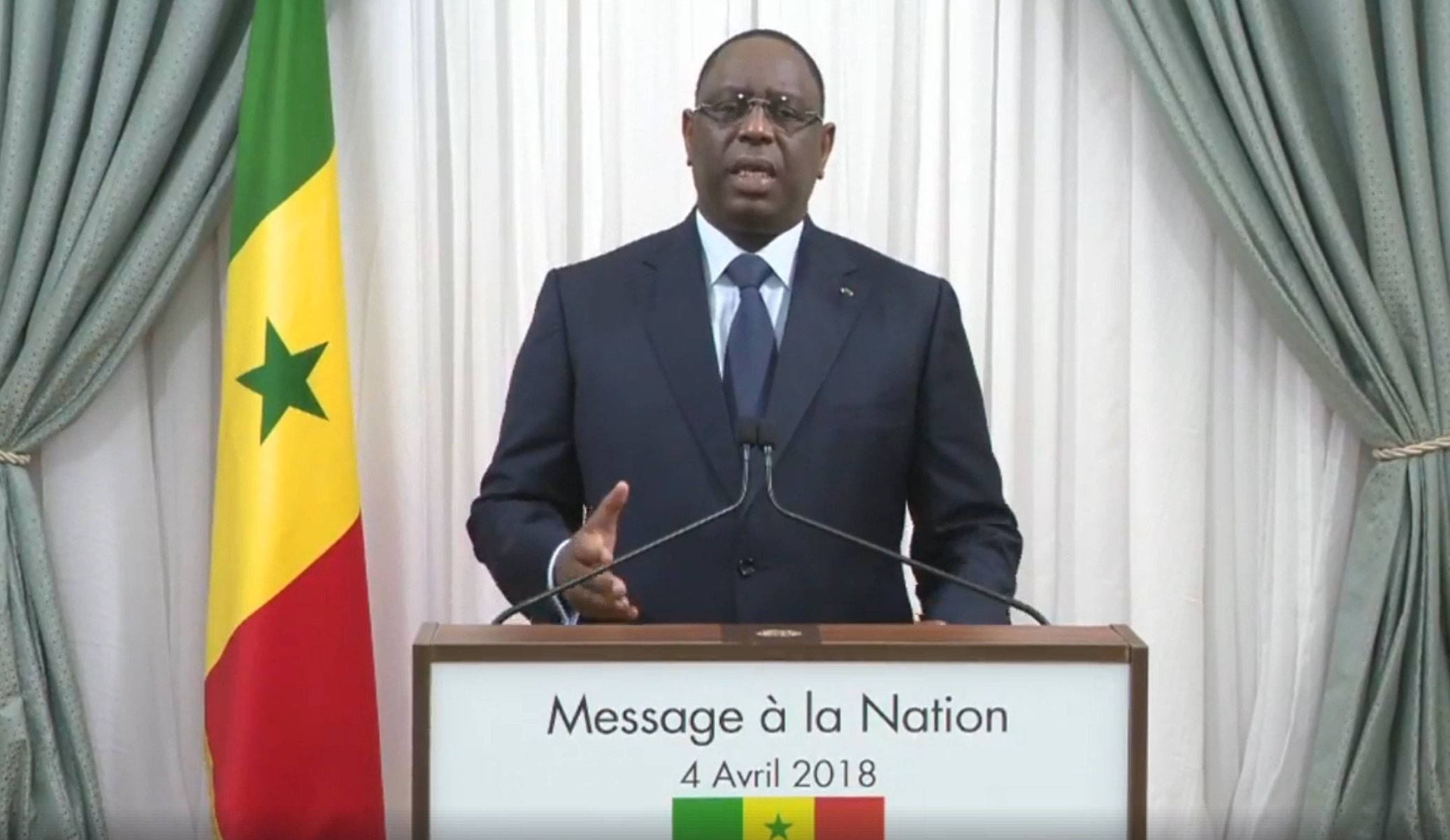 Commissariat, discours, gendarmes, Macky Sall, Nation