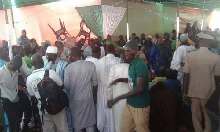 Fouta - Apr: le ministre Abdoulaye Daouda Diallo met Ko Cheikh Oumar Hanne