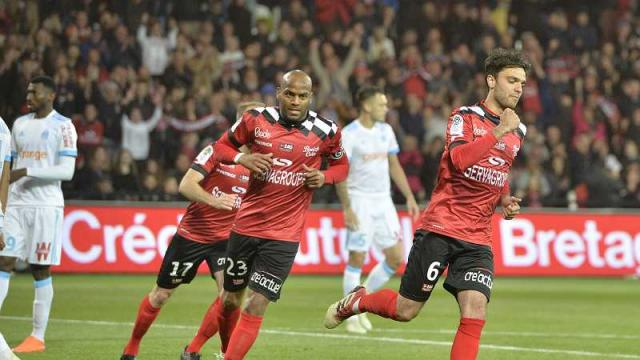 Football, Guigamp, Ligue 1, Marseille