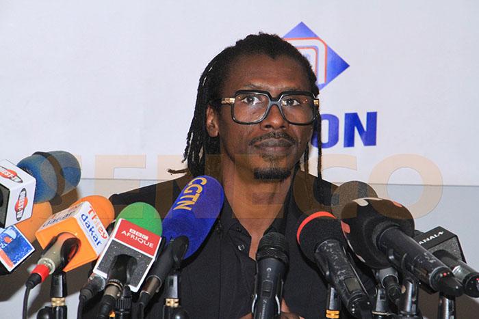 Aliou Cissé, Sadio Mané