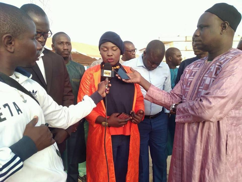 And ak Ciré Dia falat Macky Sall, Mme Anta Sow, Opposition, Tance