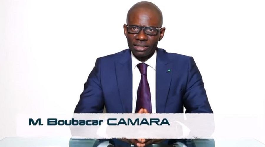 Boubacar Camara, budget 2019, candidat