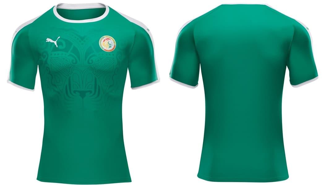 équipe nationale, maillot domicile, Puma, Sénégal