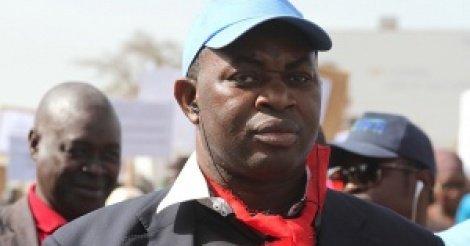 Mamadou Lamine Dianté, Marche des étudiants