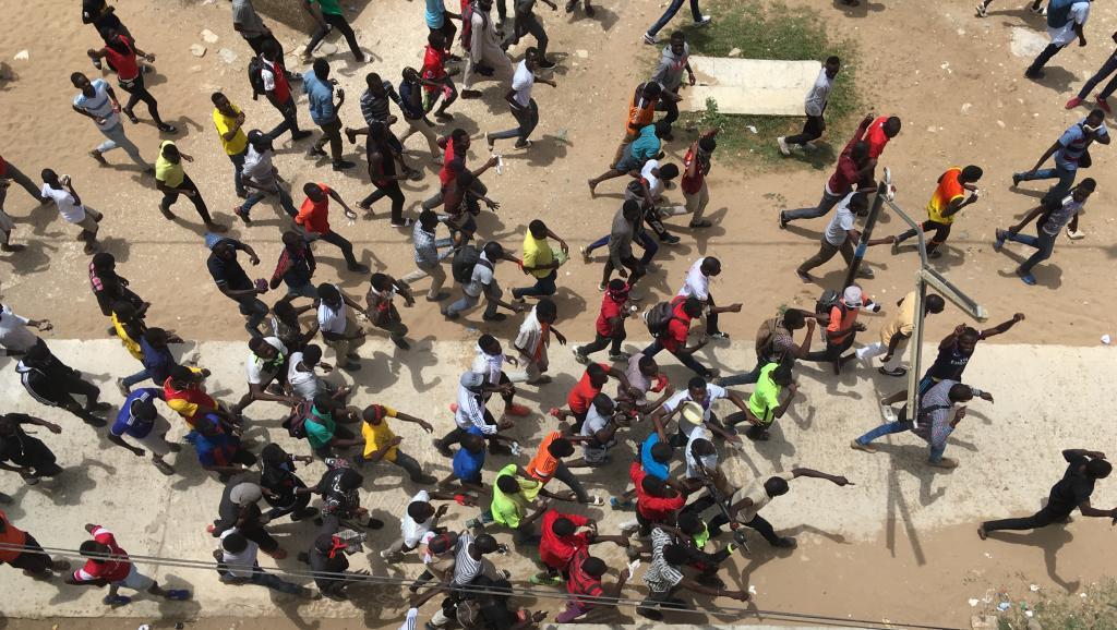 fallou sène, Sénégal, Université Gaston Berger