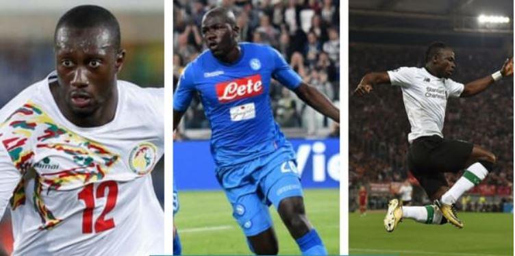 Football, joueurs sénégal, kalidou koulibaly, Lions du Sénégal, onze type africain, Sadio Mané, Youssouf Sabaly