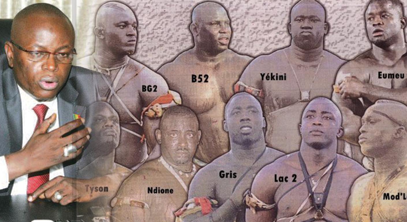 Collectif, lutteurs, Matar Ba
