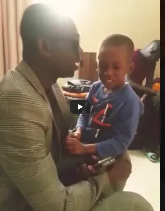 Vidéo : A 4 ans, Mouhamed, le fils de Pape Diouf chante la