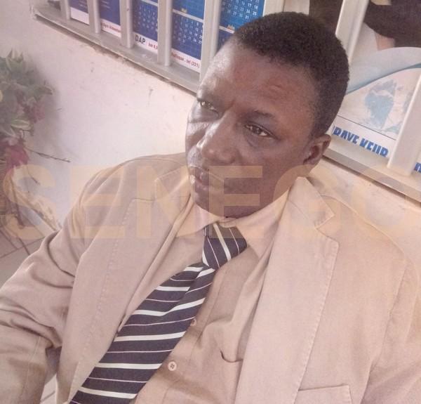 Moustapha Samb-professeur