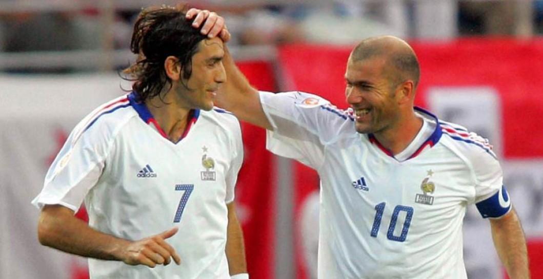 Pires zidane tait nul la coupe du monde 98 - Joueur coupe du monde 98 ...