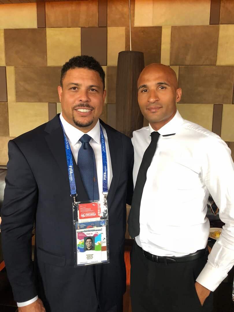 Diomansy Kamara, Diomansy Kamara et Ronaldo, il phenomeno, Mondial 2018, ronaldo, ronaldo à russie, Russie 2018, Sénégal